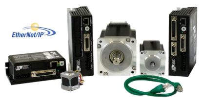 EtherNet/IP Compatible Stepper Drives