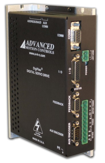 Advanced Motion Controls Single Phase Input AC Servo Amplifiers