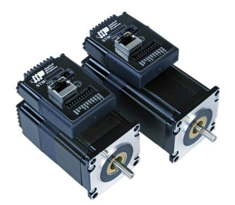 Applied Motion Products' STM23 Integrated Step Motor with EtherNet
