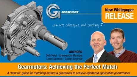 Groschopp Fractional HP Gearmotor & Motor Whitepaper