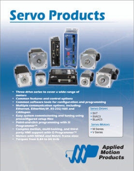 Applied Motion Products Servo Products Catalog