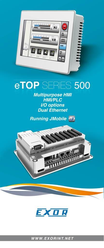 Exor eTOP500 Series